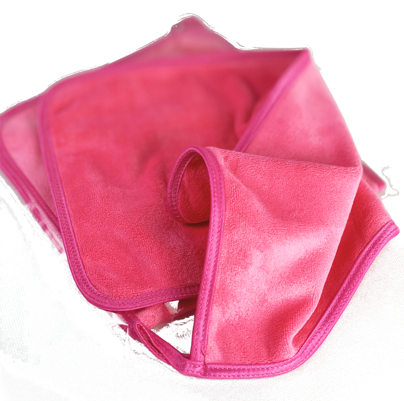 Pink MicroClean facecloth