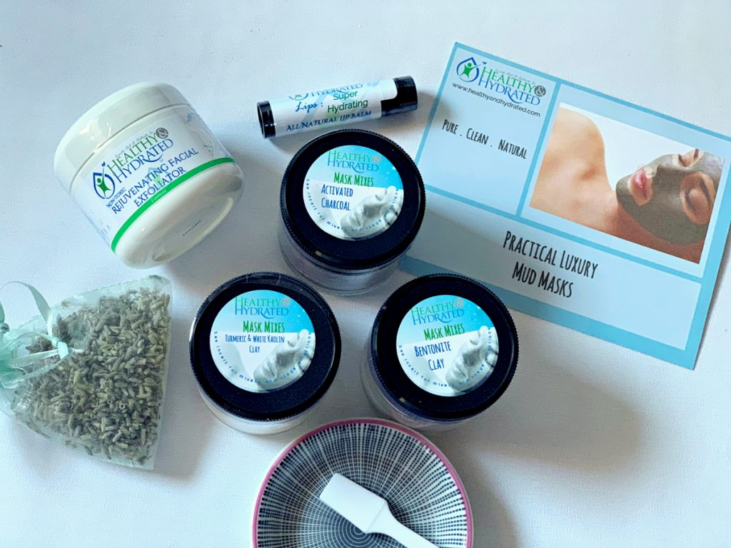 mud mask kit