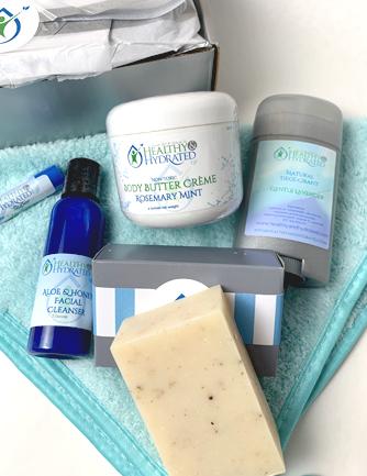 natural skin care box