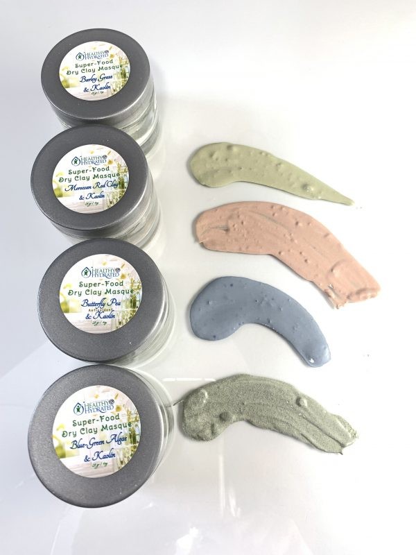 clay mask colors