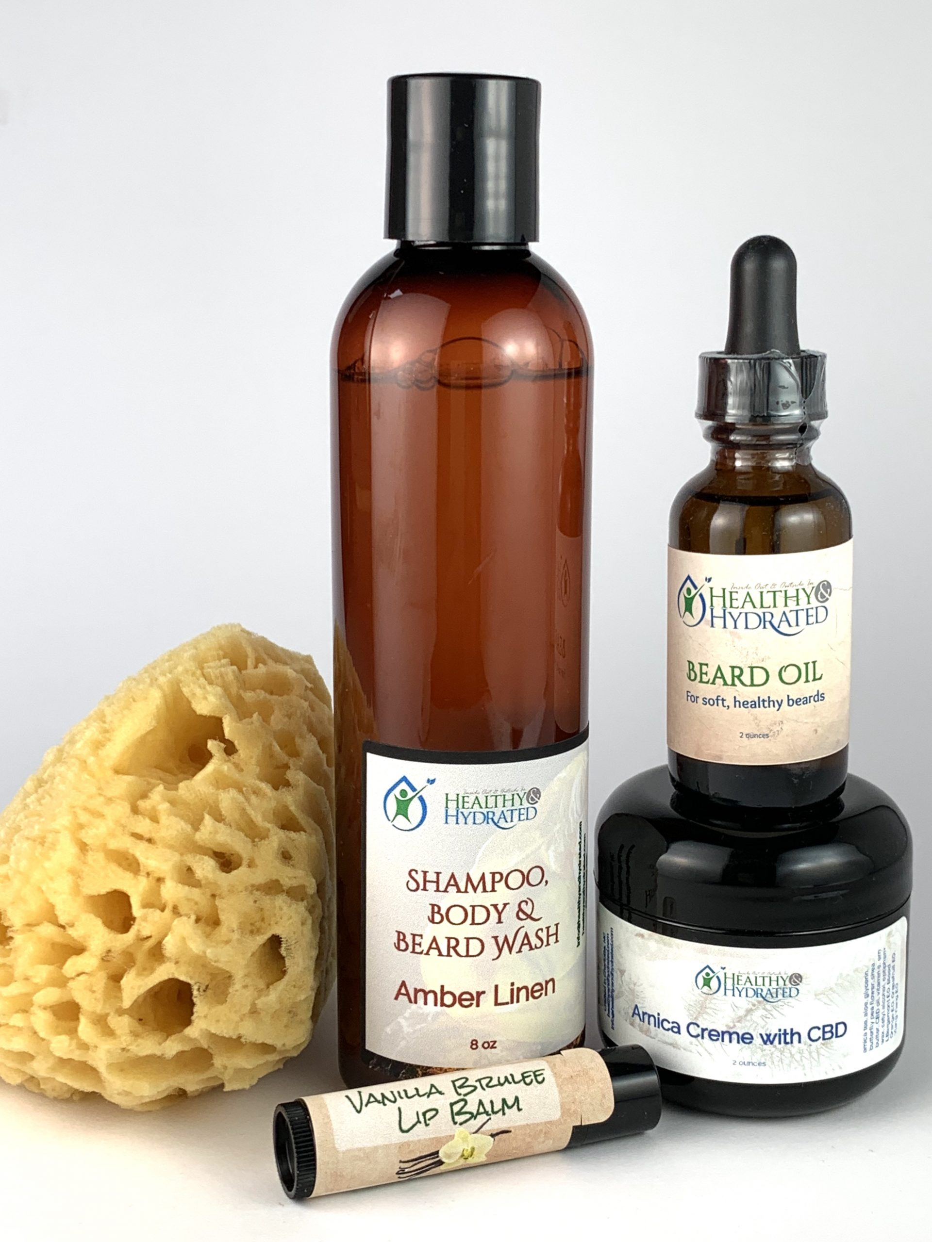 Shampoo beard and body wash