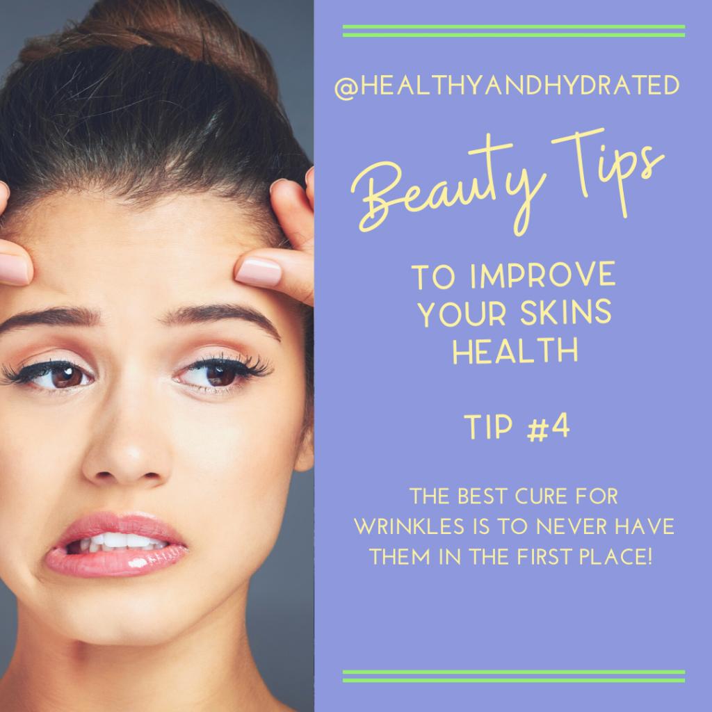 tip #4 don't get wrinkles